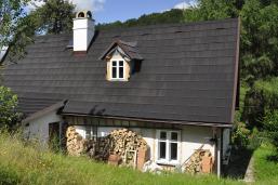 Plechový kohout na střechu